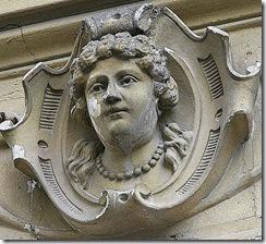 Cap de femeie(2). Strada Baratiei, 31. Bucuresti
