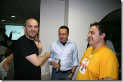 Bobby Voicu, Calin Fusu, Catalin Teniță la webclub mai 2008