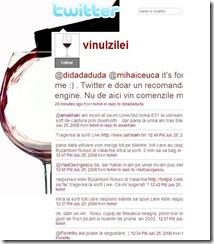 vinexpert. pagina de twitter