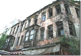 cladire ruinata in istanbul