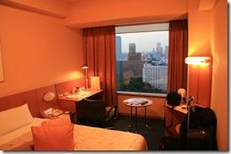 hotel room in tokyo