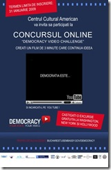 concurs Youtube organizat de ambasada SUA