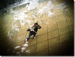 Selt Portrait 2.Cloud Gate. Millenium Park. Chicago. 2009 January