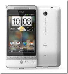 HTC Hero_Front Back_0618