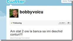 bobby voicu la banca