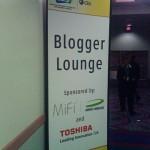 Blogger lounge CES 2010