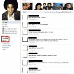 Michael Jackson Fake Facebook