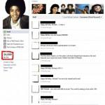 Michael Jackson Fake Facebook