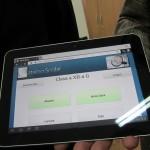 Catalog virtual pe tableta Samsung la Colegiul Tudor Vianu Bucuresti