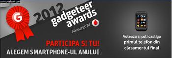 Vodafone Gadgeteer Telefonul anului 2011