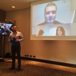 Liviu Nistoran, lansare servicii videoconferinta Evolio