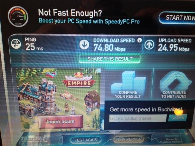 4G pe laptop Vodafone