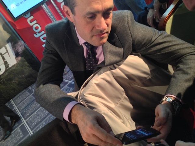 Inaki Berroeta CEO Vodafone