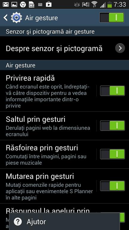 Samsung Galaxy 4 Air Gesture 2