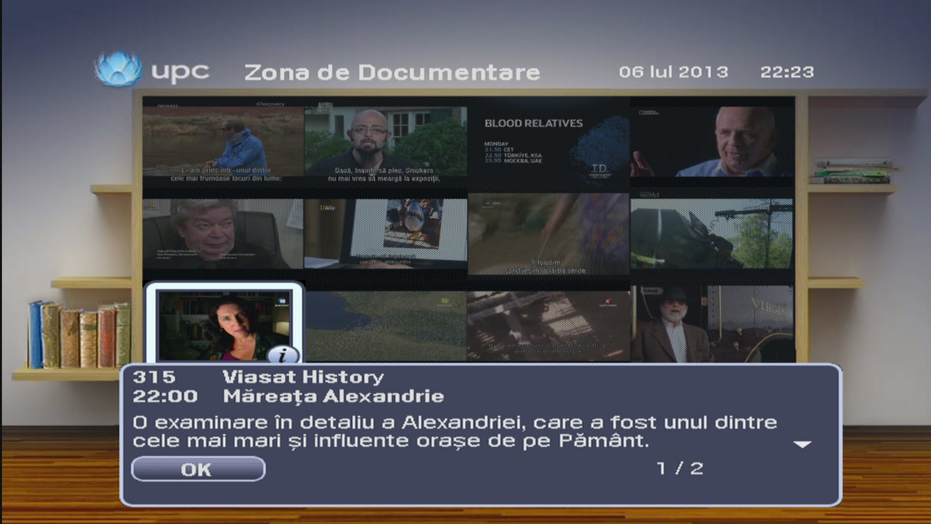 UPC Zona Documentare