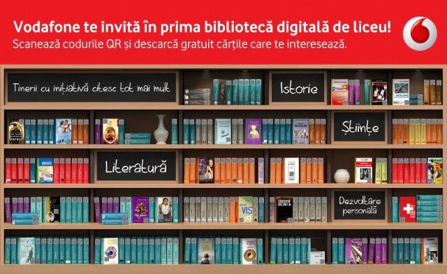 Biblioteca digitală Vodafone