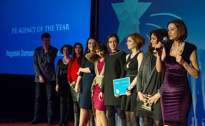 Romanian PR Award 2013 Agentia anului Rogalschi Damaschin - Copie