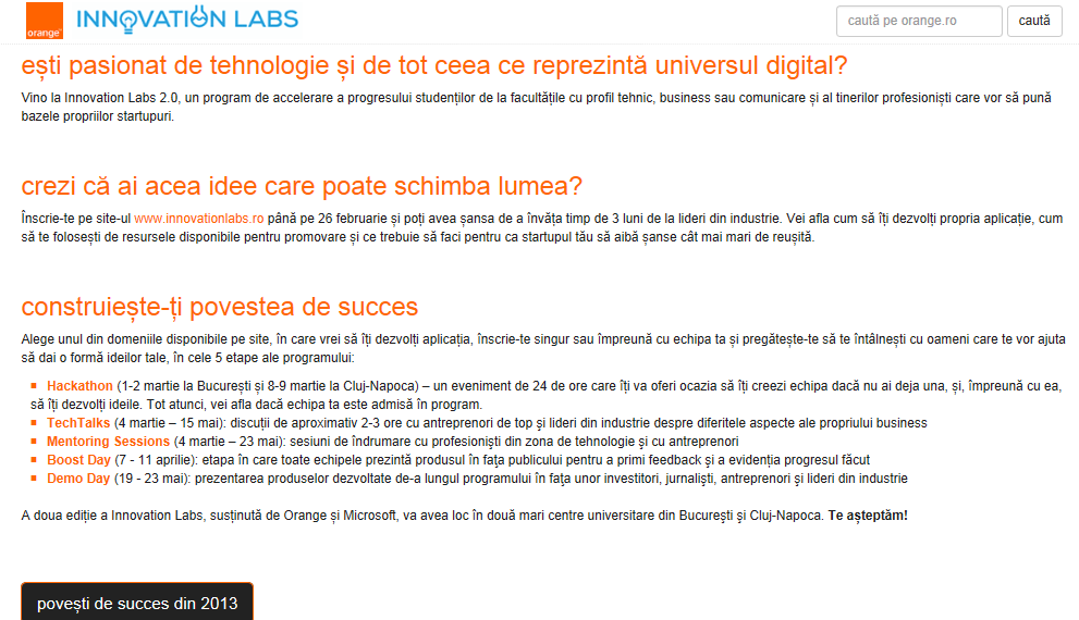 Orange Innovation Labs