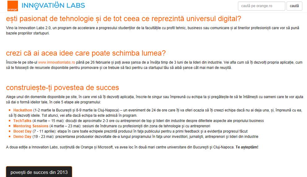 Orange Innovation Labs