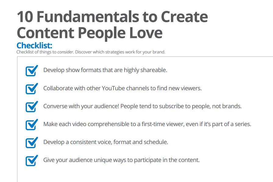 creator content for playbook