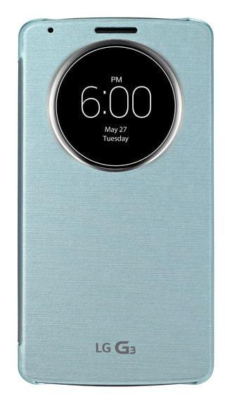 LG G3_QuickCircle Case_Aqua Mint