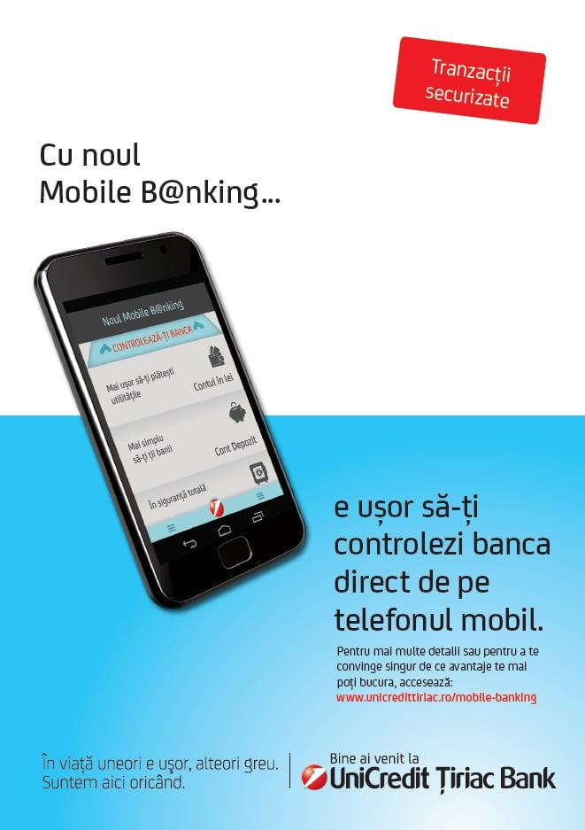 Unicredit Țiriac Bank Mobile B@nking