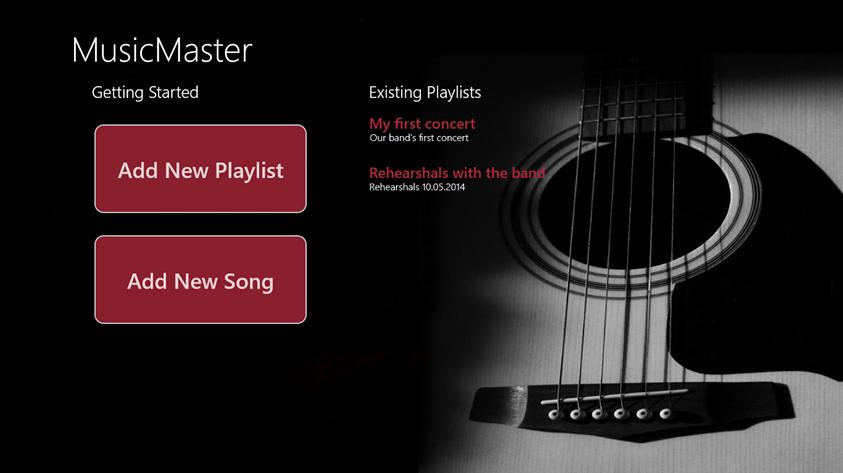 music master app innovation labs
