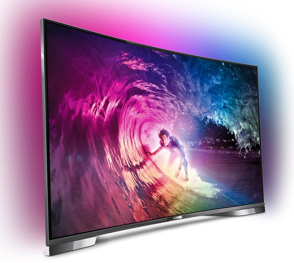Philips Smart TV 8909_side