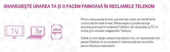 #shareuiestefericit telekom romania
