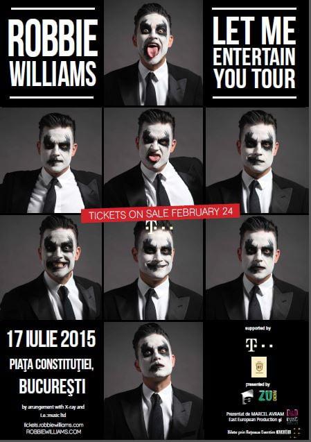 robbie williams bucharest concert
