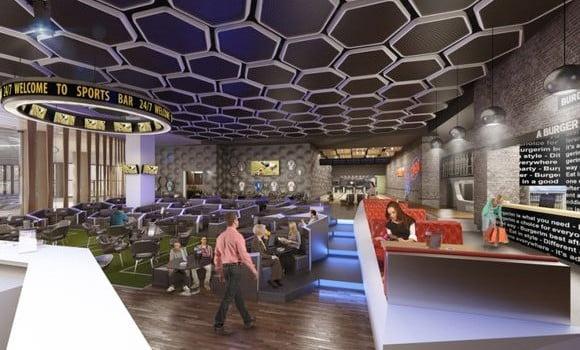 mega mall sport bar
