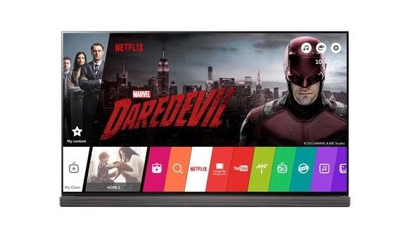 LG Netflix Partnership