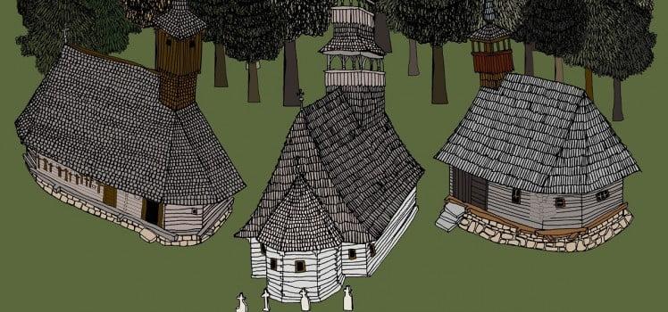 biserici de lemn din romania