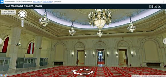 Google Cultural Institute Palatul Parlamentului