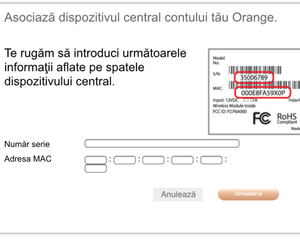 instalare orange smart home 2