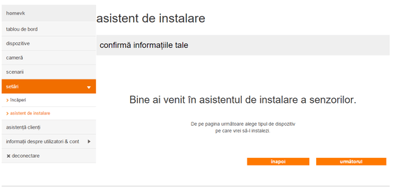 instalare senzor orange smart home 1