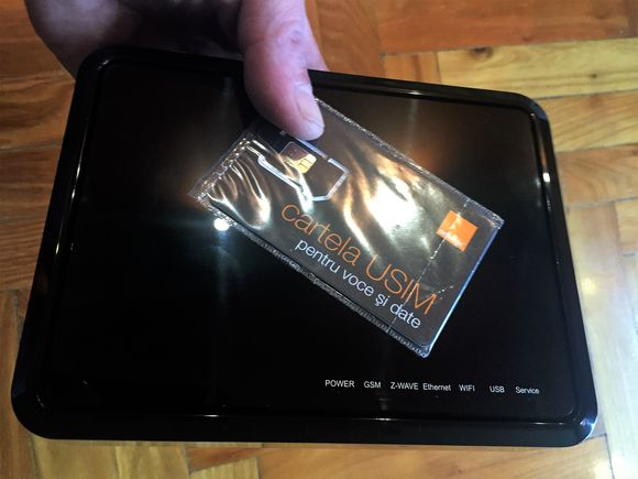 unitatea centrală orange smart home