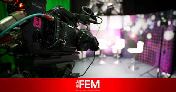MediaFEM scoala de televiziune studiou