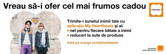 My Heartbeats orange