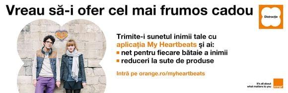 My Heartbeats orange
