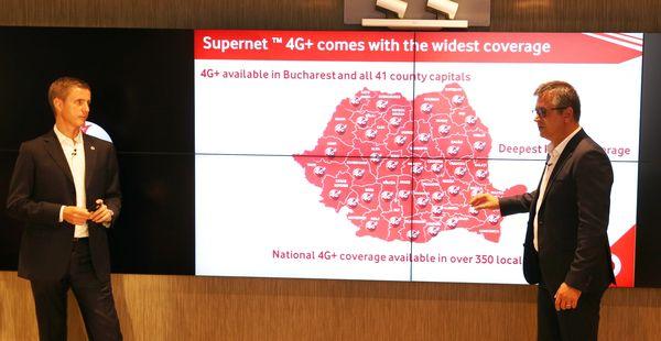 Vodafone acoperire serviciu 4G+