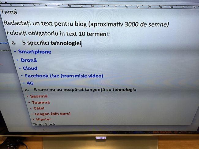 scola Flanco text pentru blog