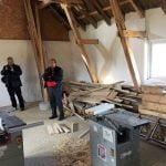 sat construit de detinuti pe grrindul tataru din delta dunarii
