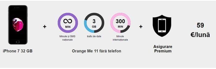 oferta inchiriat iphone orange top upgrade