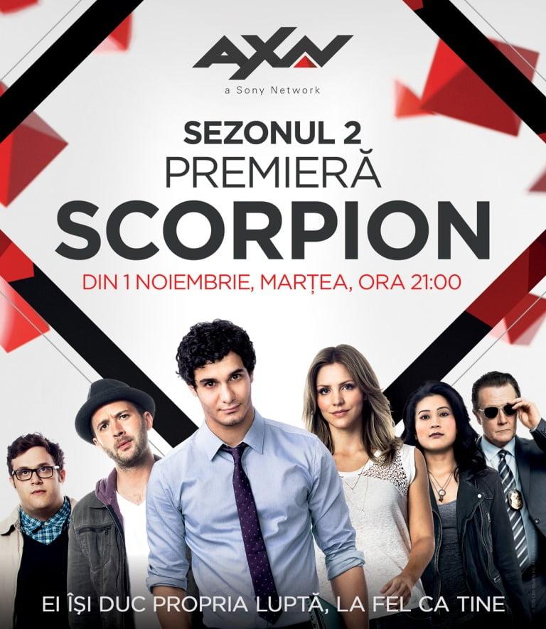 scorpion s2 serial