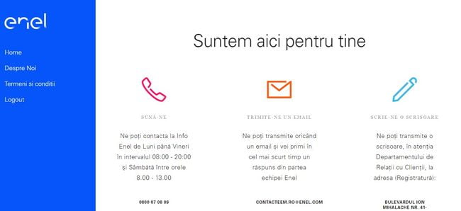 enel contact