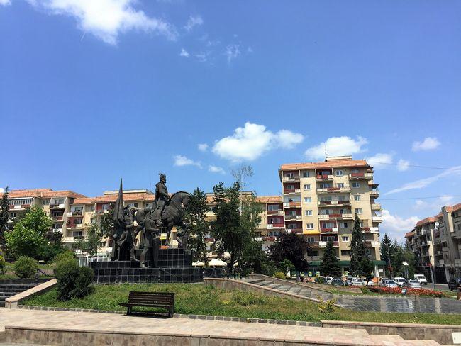 monument mihai viteazu sfantu gheorghe