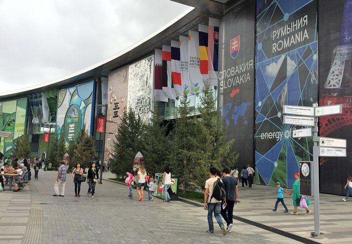 Pavilion România cu participare Rompetrol la EXPO Astana 2017