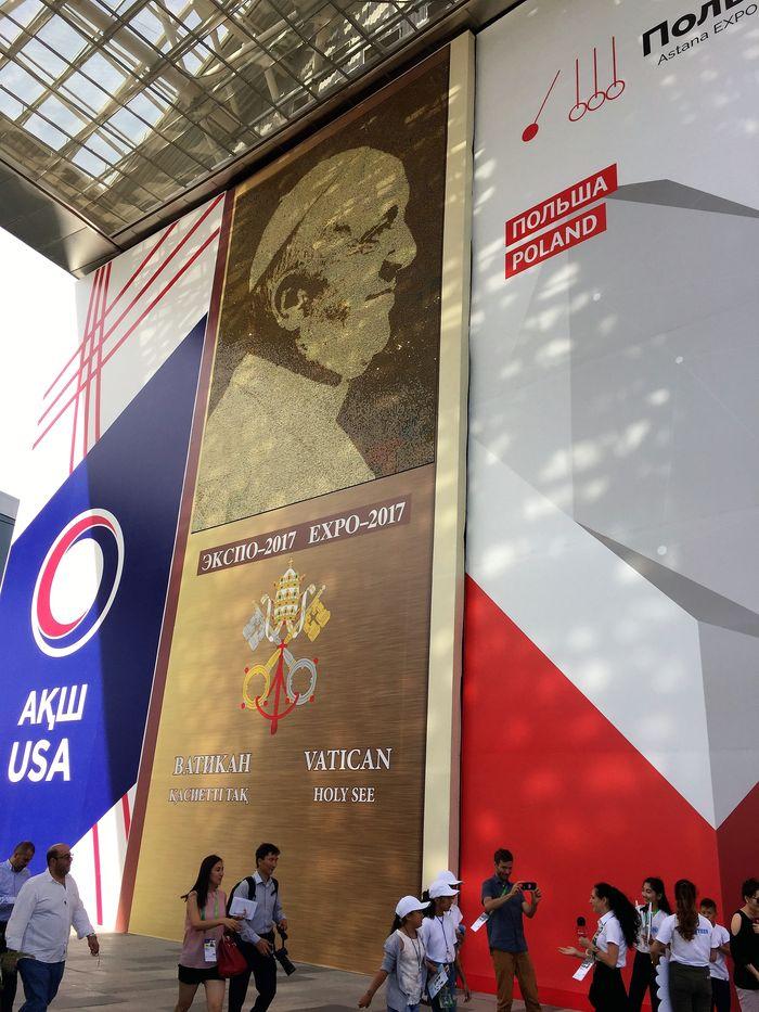 vatican pavillion expo astana 2017