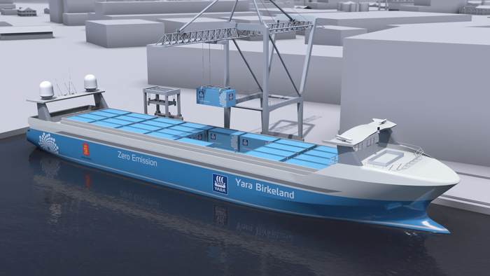 yara electric ship al oslo innovation week
